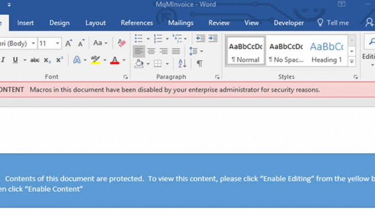 Now Microsoft Office 2016 can block macro malware attacks