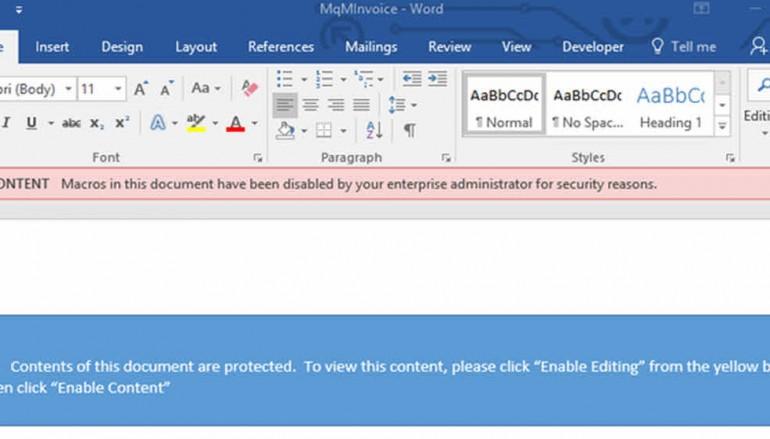 Now Microsoft Office 2016 can block macro malware attacks