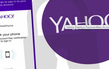 Yahoo Deploys Passwordless Account Key Tool