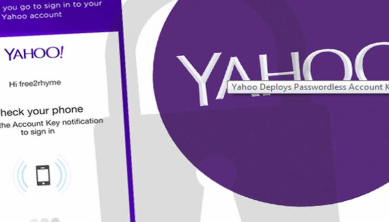 Yahoo Deploys Passwordless Account Key Tool