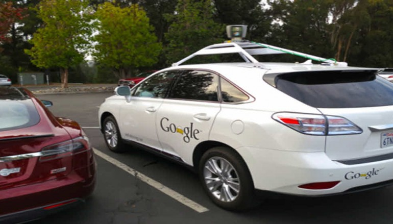 You can now watch the video of Google's self-driving car slowly hitting a city bus