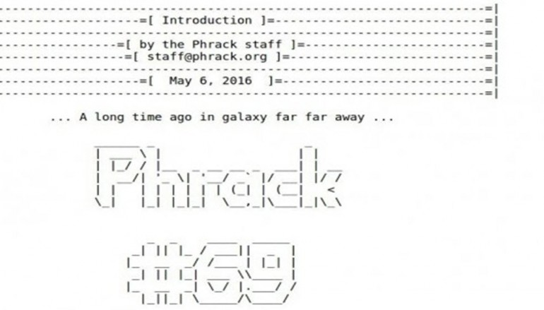 The Hacker e-zine, Phrack makes a comeback after four years