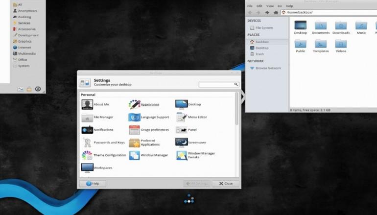 Ubuntu-Based BackBox Linux 4.6 Launches with Updated Hacking Tools, Kernel 4.2