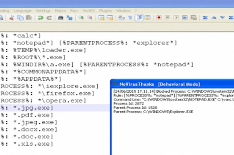 Stop common malware exploits with NoVirusThanks Smart Object Blocker