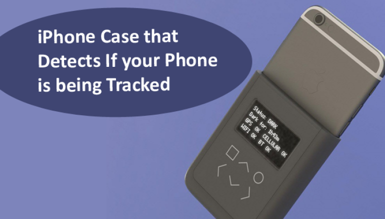 Edward Snowden Designs an iPhone Case to Detect & Block Wireless Snooping