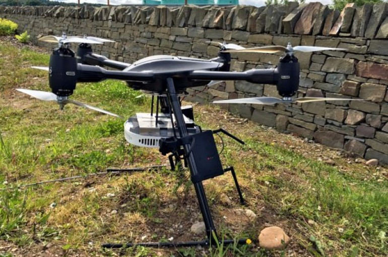 Nokia and EE trial mobile base stations floating on drones to revolutionise rural 4G coverage