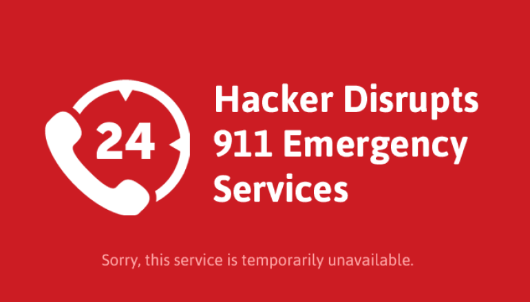 Teenage Hacker Arrested For Disrupting 911 Service With DDoS Attack