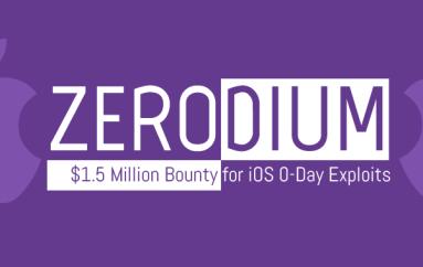 Zerodium Offers $1.5 Million Bounty For iOS Zero-Day Exploits