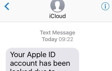 Apple ID smishing evolves to lure more victims