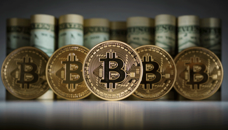 Bitcoin's price jumps more than 70% in one month