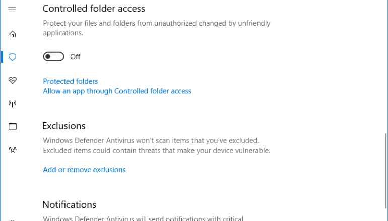 Windows 10 Creators Update- New anti-ransomware feature
