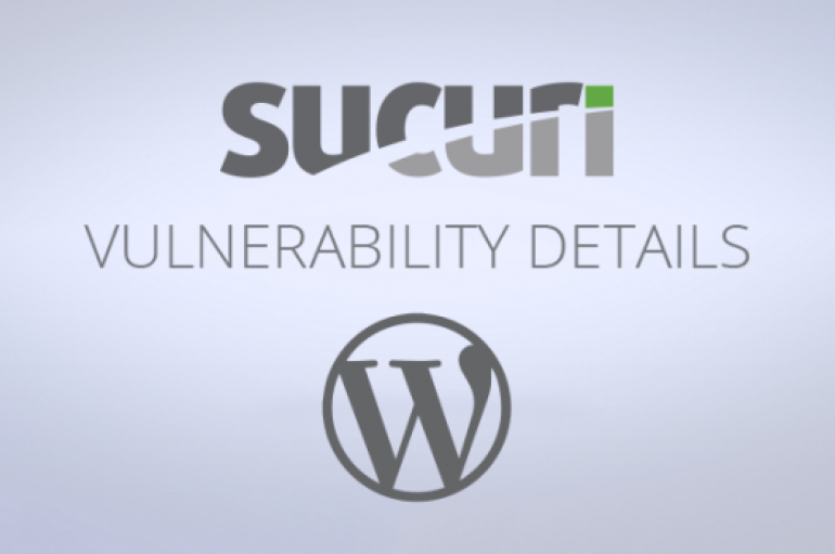 WordPress plugin vulnerability discovered