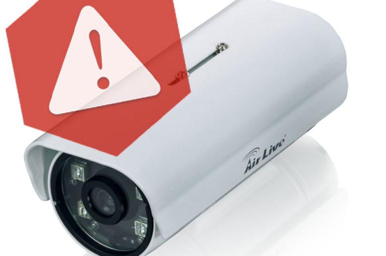Vulnerabilities found in IP Cameras