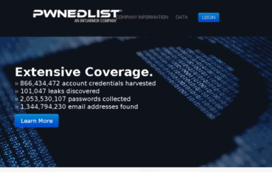 PwnedList Shuts Down Because of Security Bug That Exposed Details for 866M Users