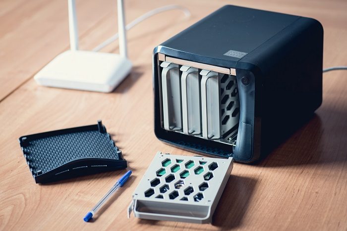 Small office or home NAS server. Own cloud or streaming source. Data security solution.