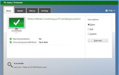 Windows Defender is The First Antivirus Solution That Can Run In A Sandbox