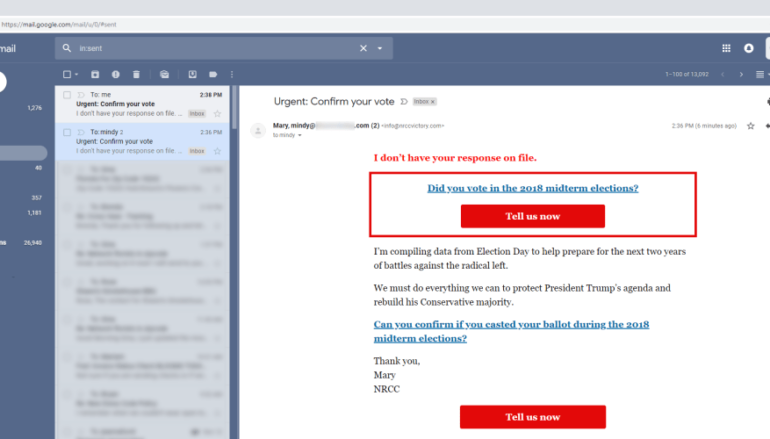 Hacking Gmail's UX with From Fields for Phishing Attacks