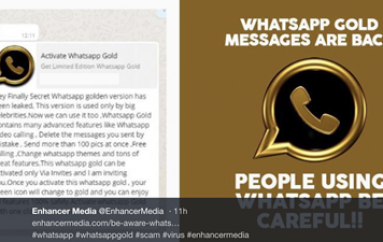 Don't Fall for the WhatsApp Gold Scam
