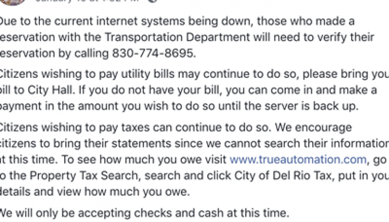 City of Del Rio Hit by Ransomware Attack