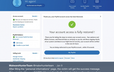 Hackers Use PayPal to Phish with Ransomware