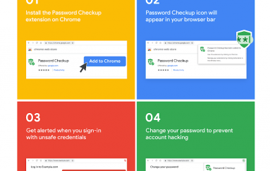 Password Checkup Chrome Extension Warns Users About Compromised Logins