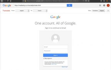 Phishing Campaign Leverages Google Translate as Camouflage