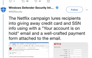 Attacks Target AmEx, NetFlix Users with Phishing