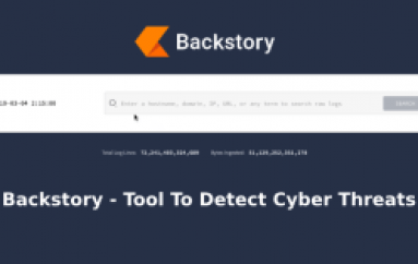 Backstory -Google Released New Tool To Analyze Internal Security Telemetry to Detect Cyber Threats