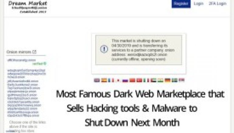 Most Famous Dark Web Marketplace that Sells Hacking tools & Malware about to Shut Down Next Month