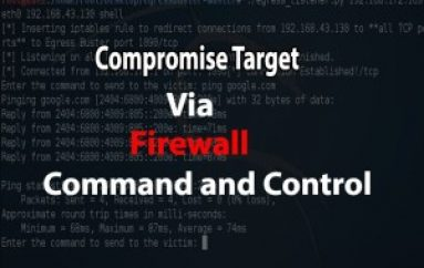 EgressBuster  – A Pentesting Tool to Compromise Victim via Command & Control using Firewall