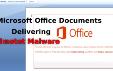 Hackers Launching Weaponized Word Document to Push Emotet & Qakbot Malware
