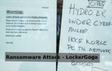 Extensive Ransomware Attack Hits Worldwide Operation at Aluminum Manufacturing Gaint Norsk Hydro