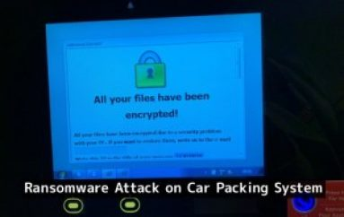 Canadian Internet Registration Authority Hit with Ransomware Attack on Car Packing System