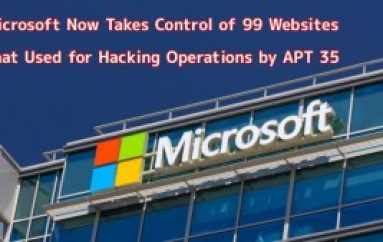 Microsoft Now Takes Control of 99 Websites that Used for Hacking Operations by APT 35 Hackers