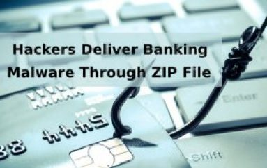 Hackers Deliver Banking Malware Through Password Protected ZIP File