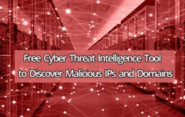 New Free Cyber Threat Intelligence Tool to Discover Malicious IPs and Domains