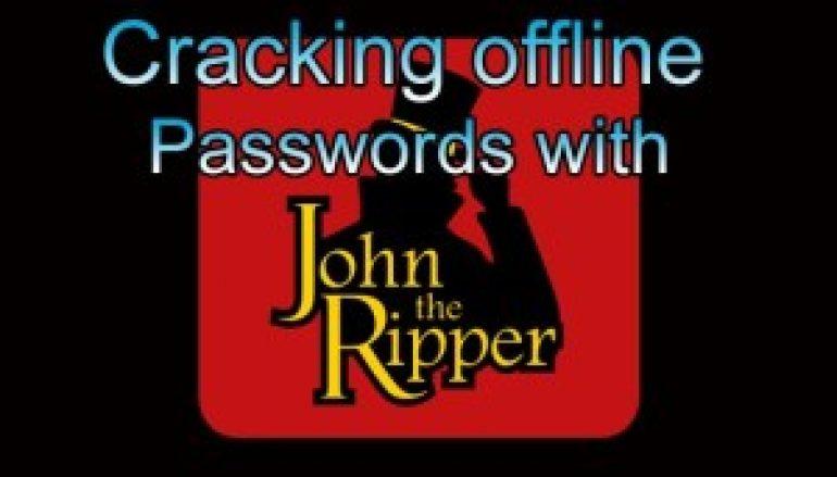 John the Ripper – Pentesting Tool for Offline Password Cracking to Detect Weak Passwords