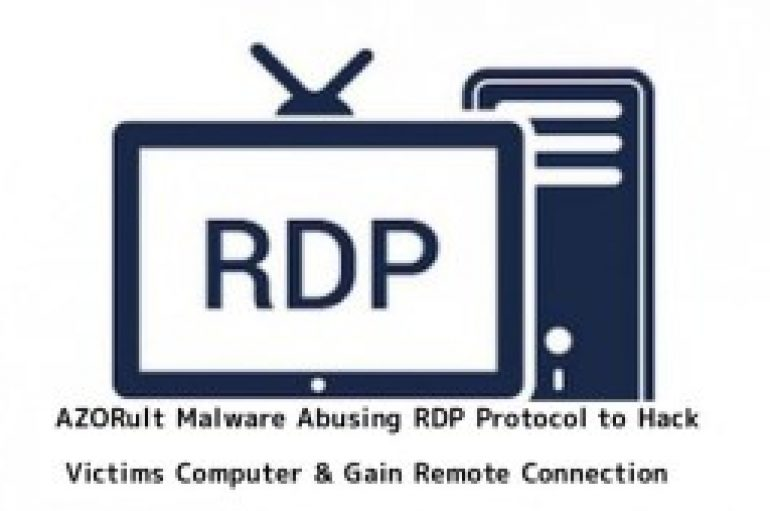 AZORult Malware Abusing RDP Protocol To Steal the Data by Establish a Remote Desktop Connection