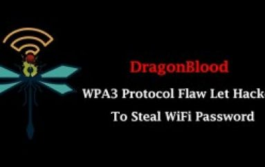 DragonBlood – New Vulnerability in WPA3 Protocol Let Hackers To Steal WiFi Password