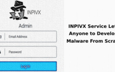 INPIVX Service Let Anyone to Develop Malware From Scratch