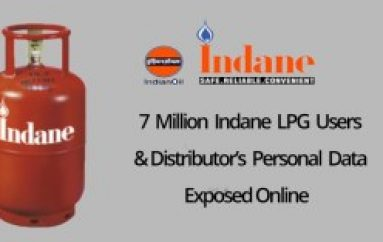 7 Million Indane LPG Users & Distributor's Personal Data & Bank Details Leaked Online