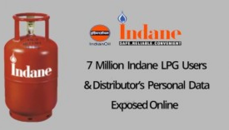 7 Million Indane LPG Users & Distributor's Personal Data & Bank Details Leaked Online