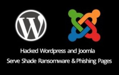 Hackers Using WordPress and Joomla Sites to Distribute Shade Ransomware