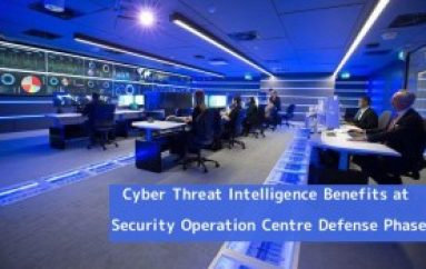 How Does Cyber Threat Intelligence Benefits at Security Operation Centre Defense Phase
