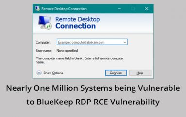 Internet Scans Found Nearly One Million Systems being Vulnerable to Wormable BlueKeep Remote Desktop Protocol RCE Vulnerability