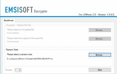 Emsisoft Released a Free Decrypter for JSWorm 2.0