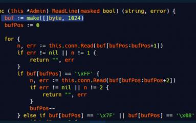 A Bug in Mirai Code Allows Crashing C2 Servers