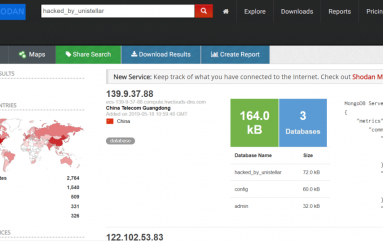 Unistellar Attackers Already Wiped over 12,000 MongoDB Databases