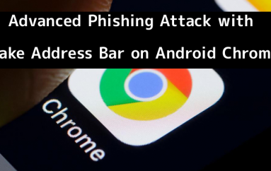 Hackers Tricks You With Advanced Phishing Attack using Fake Address Bar on Chrome for Android