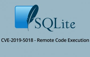 SQLite Vulnerability allows Hackers to Remotely Execute Code on the Vulnerable Device